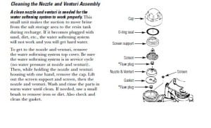 A Page In The Morton Softener Manual